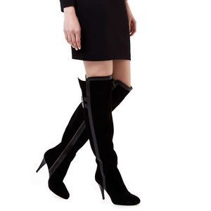 NEW MICHAEL KORS Delaney Knee High Boots sz 10